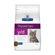 Hill's PD Thyroid Care Y/D для кошек 1,5кг