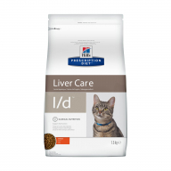 Hill's PD L/D Liver Care для кошек 1,5 кг