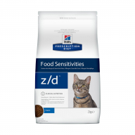 Hill's PD Food Sensitivities Z/D для кошек 2 кг