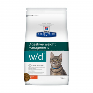 Hill's PD Digestive/Weight Management W/D для кошек 1,5кг