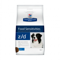Hill's PD Z/D Food Sensitivities для собак