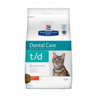 Hill's PD T/D Dental Care для кошек 1,5 кг