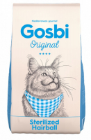 Gosbi Original Sterilised Hairball для кошек