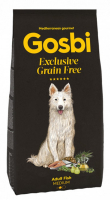 Gosbi Grain Free Medium Adult Рыба для собак