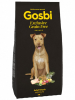 Gosbi Grain Free Medium Adult Утка для собак
