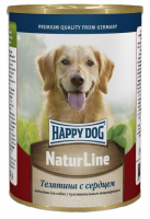 Happy Dog Natur Line Телятина/Сердце конс для собак  410 г