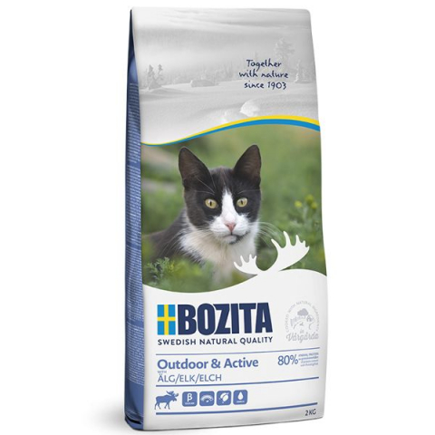 Bozita Feline Outdoor & Active Лось для кошек 1