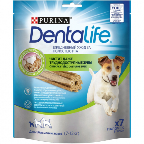 Бисквиты Purina Dentalife Small для собак 1