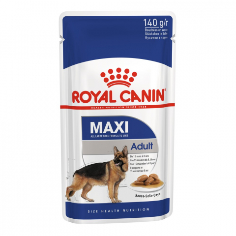 Royal Canin Maxi Adult соус пауч для собак 140 г 1