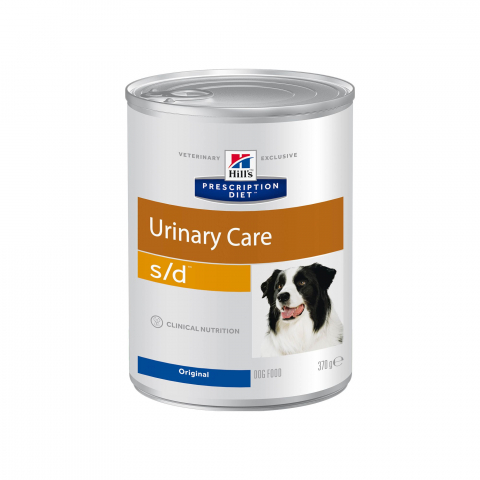 Hill's PD S/D Urinary Care конс для собак 370 г 1